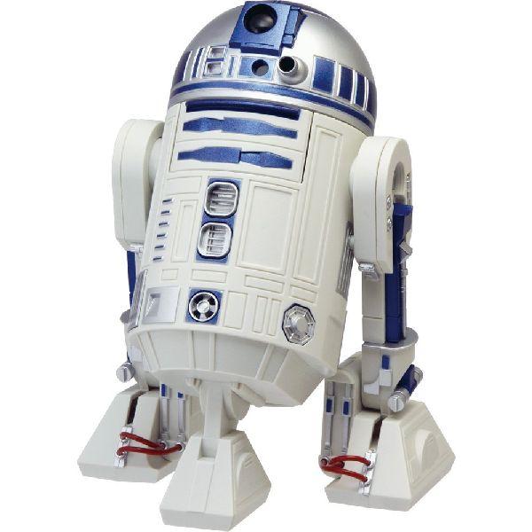 目覚まし時計 置き時計 シチズン リズム時計 RHYTHM CITIZEN STAR WARS スターウォーズ R2-D2 音声 アクション 白 8ZDA21BZ03 CITIZEN