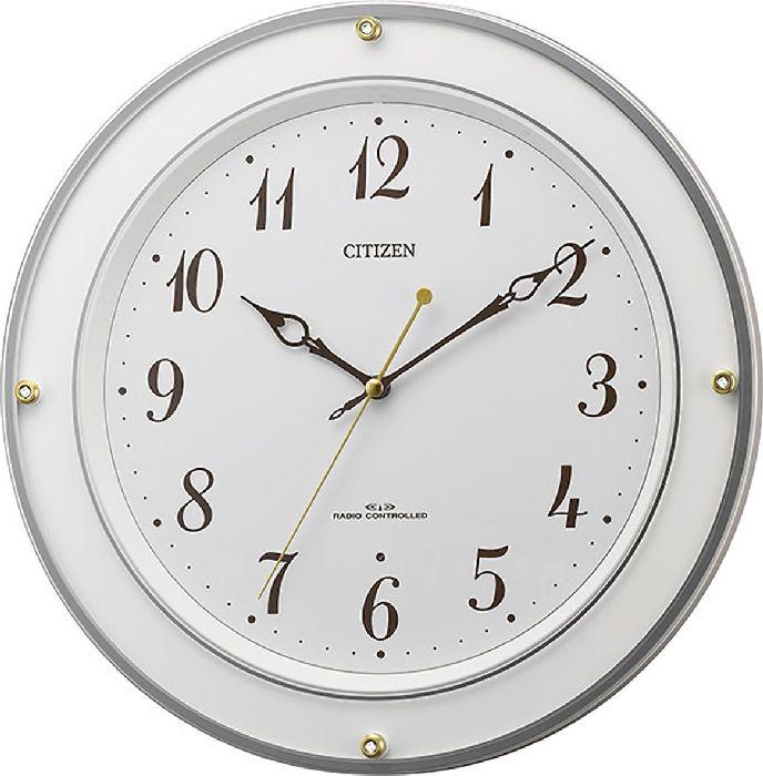 掛け時計 壁掛け時計 電波時計 シチズン リズム時計 RHYTHM CITIZEN 連続秒針 アナログ 8MY518-003 CITIZEN:butler