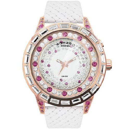 腕時計 レディース ダズルシリーズ レディースウォッチ ピンク ROMAGO DESIGN ロマゴデザイン RM006-1477RG-PK