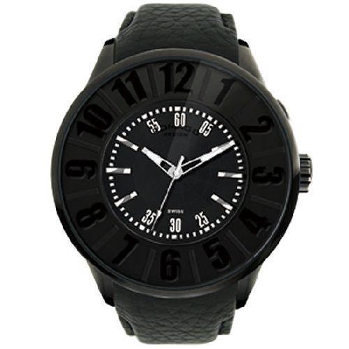 腕時計 メンズ ヌメレーションシリーズ メンズウォッチ ブラック ROMAGO DESIGN ロマゴデザイン RM007-0053ST-BK