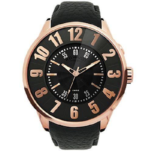 腕時計 メンズ ヌメレーションシリーズ メンズウォッチ ピンクゴールド ROMAGO DESIGN ロマゴデザイン RM007-0053ST-RG
