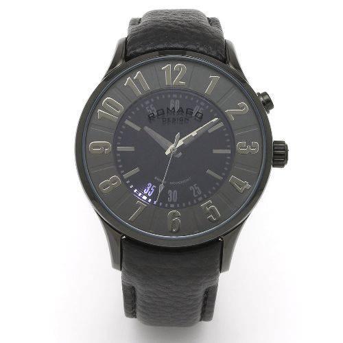 腕時計 レディース ヌメレーションシリーズ レディースウォッチ ブラック ROMAGO DESIGN ロマゴデザイン RM068-0053ST-BK