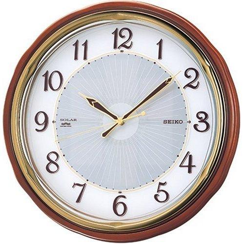 掛け時計 壁掛け時計 電波時計 セイコー SEIKO クロック ソーラー ツインパ SF221B