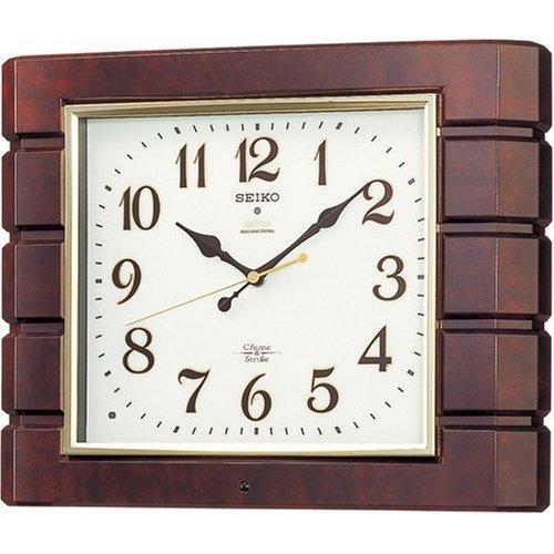 掛け時計 壁掛け時計 電波時計 セイコー SEIKO クロック チャイム ストライク ツインパ RX209B