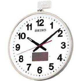掛け時計 壁掛け時計 ソーラー 電波時計 セイコー SEIKO クロック ソーラー 屋外用 SF211S