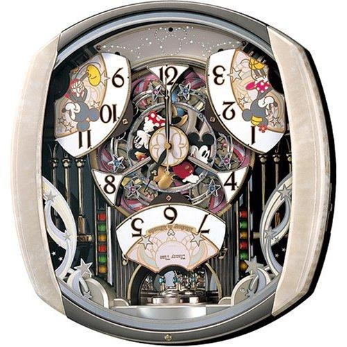 掛け時計 壁掛け時計 電波時計 セイコー SEIKO クロック ディズニータイム ミッキー フレンズ ツインパ FW563A