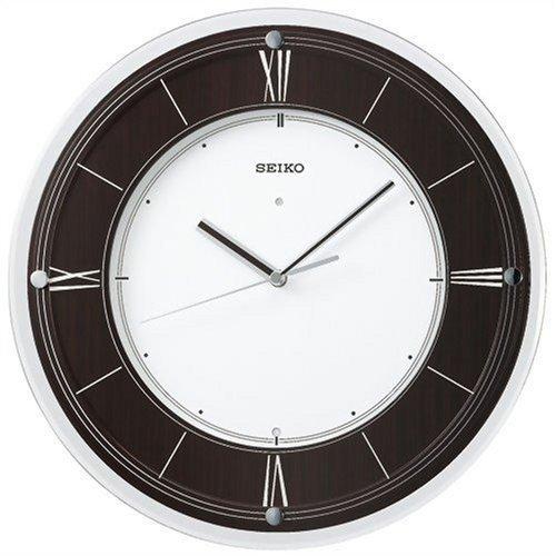 掛け時計 壁掛け時計 電波時計 セイコー SEIKO クロック インターナショナル コレクション 木枠 KX321B