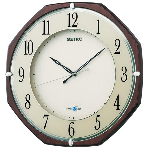 掛け時計 壁掛け時計 衛星電波時計 電波時計 セイコー クロック SEIKO 衛星アナログセイコー スペースリンク インテリア GP207B