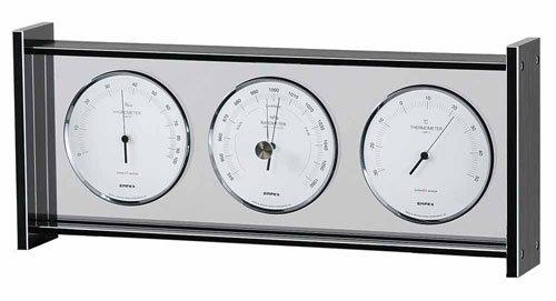エンペックス empex 温度湿度計 気圧計 温度計 湿度計 温度湿度気圧計 スーパーEX ギャラリー 気象計 EX-796 シルバー empex