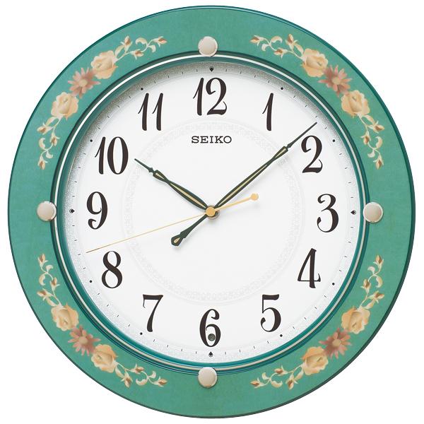 掛け時計 壁掛け時計 電波時計 セイコー SEIKO クロック スタンダード アナログ KX220M