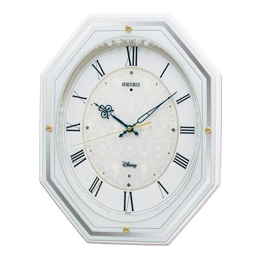 掛け時計 壁掛け時計 電波時計 セイコー SEIKO クロック 大人ディズニー アナログ時計 FS505W