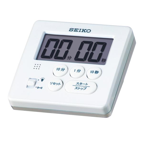 SEIKO セイコー キッチンタイマー 学習タイマー デジタル レビューを書けば送料当店負担 MT717W 本日の目玉 クロック タイマー