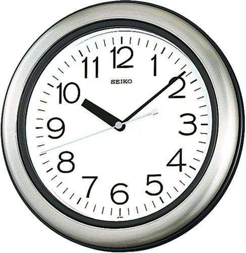 バスクロック キッチン 掛け時計 壁掛け時計 生活防水 セイコー クロック SEIKO キッチン バスクロック クオーツ KS463S