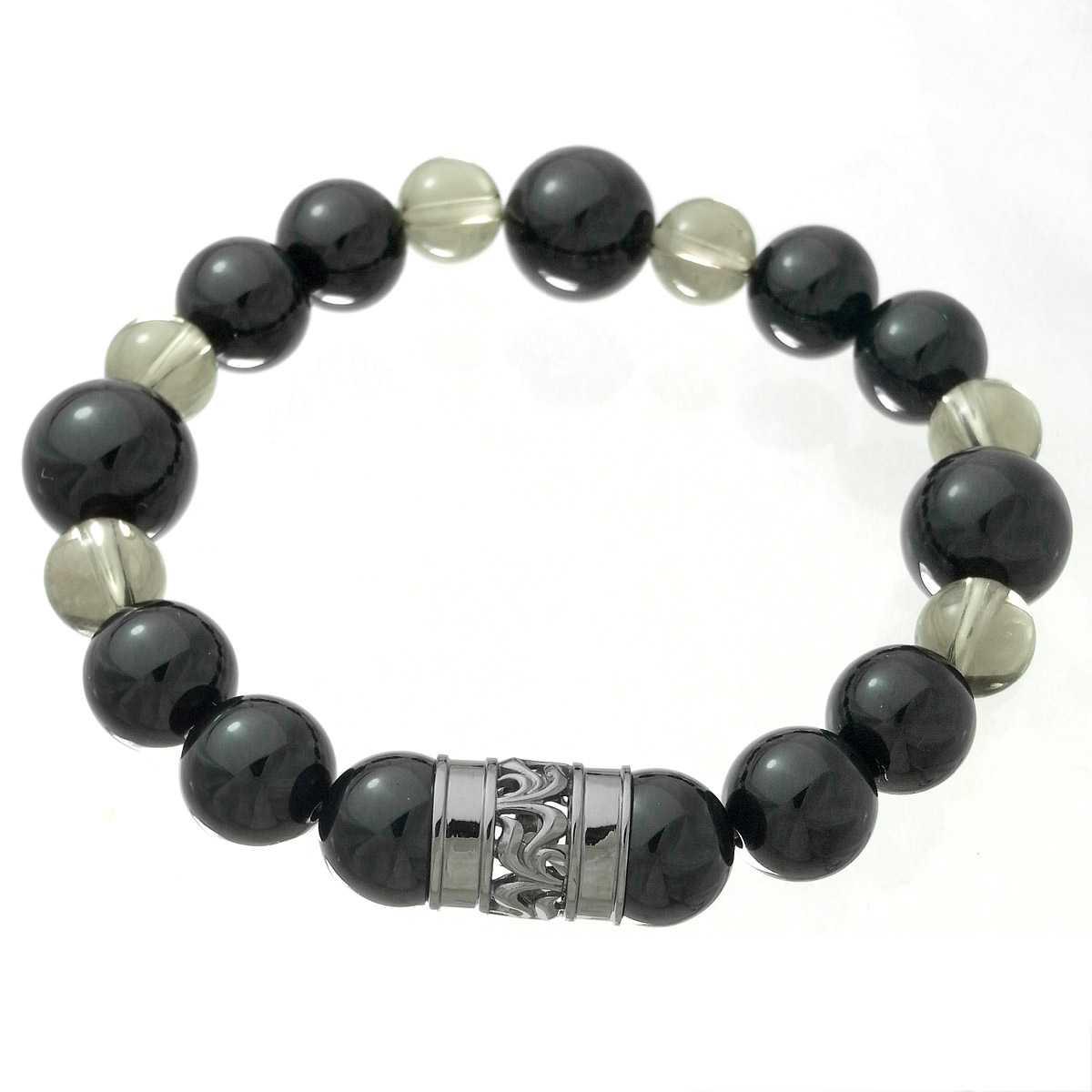 Royal Stag Zest ロイヤルスタッグゼスト パワーストーン 天然石ブレスレット 数珠 オニキスベース SBR25-006