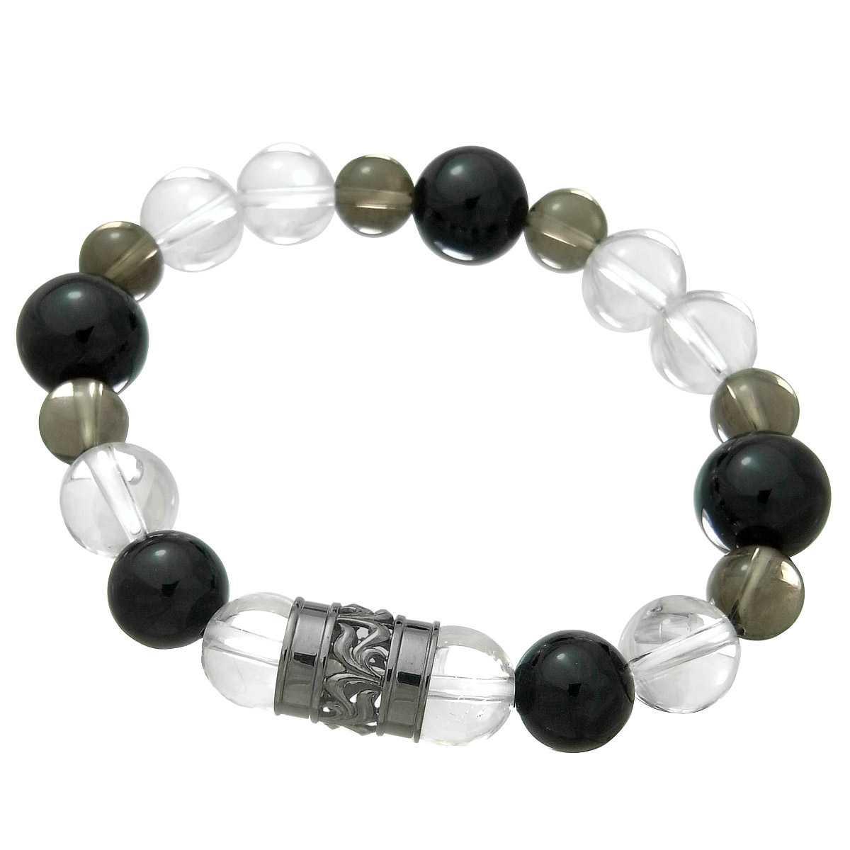 Royal Stag Zest ロイヤルスタッグゼスト パワーストーン 天然石ブレスレット 数珠 クリスタルベース SBR25-008