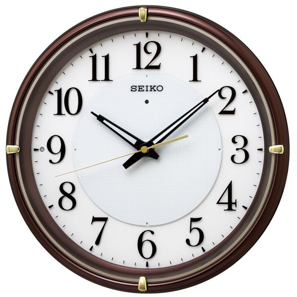 掛け時計 壁掛け時計 電波時計 SEIKO セイコー クロック KX233B アナログ