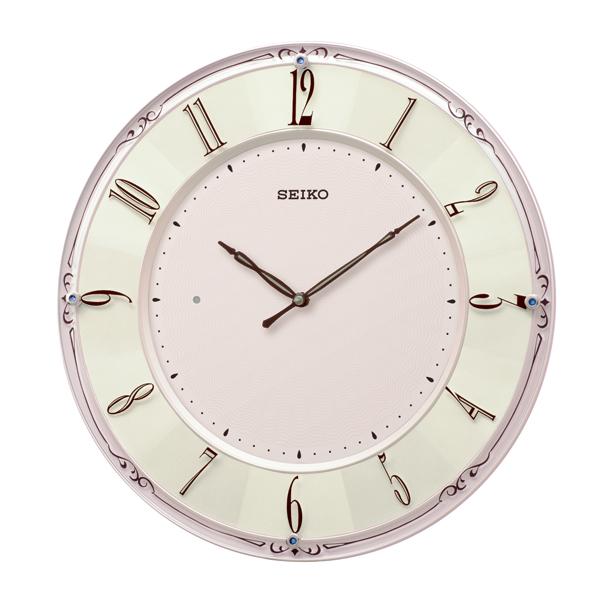 掛け時計 壁掛け時計 電波時計 SEIKO セイコー クロック KX504P アナログ