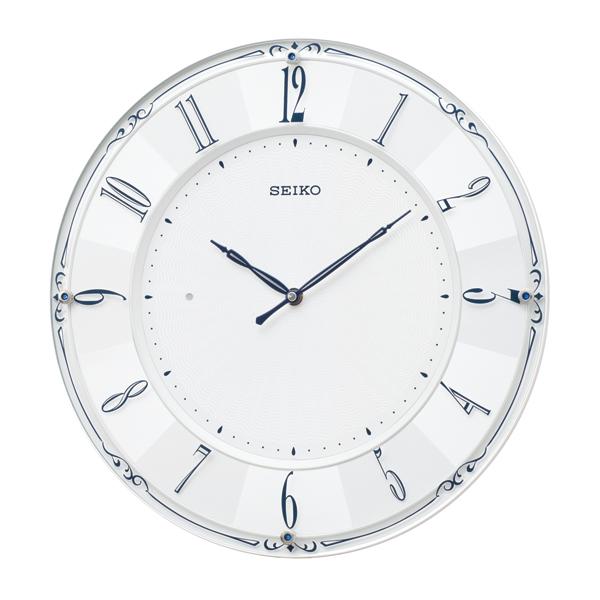 掛け時計 壁掛け時計 電波時計 SEIKO セイコー クロック KX504W アナログ