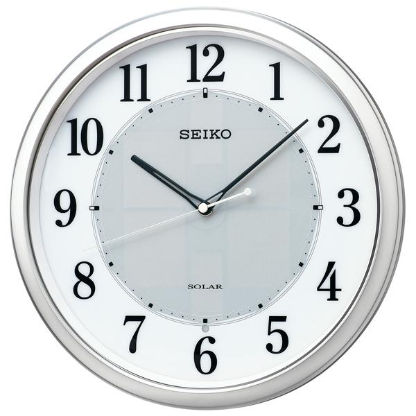 掛け時計 壁掛け時計 ソーラープラス 電波時計 SEIKO セイコー クロック SF243S アナログ