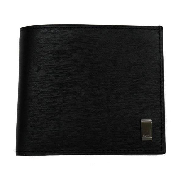 ダンヒル DUNHILL SIDECAR 二つ折り財布(小銭入れ有) L2RF32A ブラック
