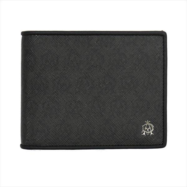 ダンヒル DUNHILL WINDSOR 二つ折り財布(小銭入れ有) L2W732Z ブラック
