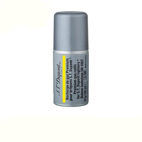 [5本セット] デュポン ライター用 ガスレフィル 専用ガスボンベ 黄色ラベル 000432 (ライン1 スモール/ライン2用) S.T.Dupont