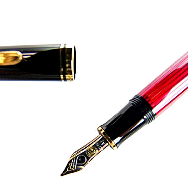 Pelikan perikansuberen M400波尔多钢笔笔尖EF:极细的m400bordeauxef