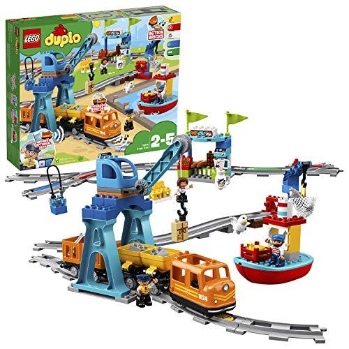 レゴ LEGO ギフト デュプロ 期間限定お試し価格 キミが車掌さん おしてGO機関車スーパーデラックス 10875
