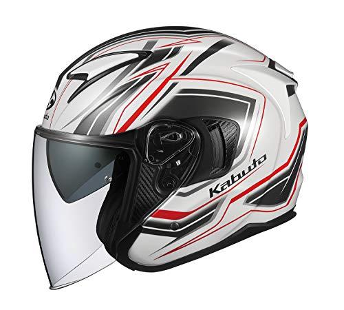 オージーケーカブト OGK 新品 KABUTO バイクヘルメット ジェット EXCEED パールホワイト CLAW サイズ:L 格安SALEスタート クロー 581541