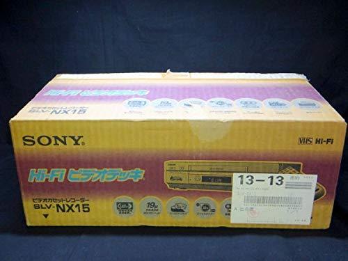 セール 登場から人気沸騰 SONY 2020春夏新作 SLV-NX15 VHSビデオデッキ