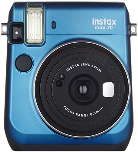 爆買い送料無料 FUJIFILM インスタントカメラ チェキ instax mini70 70 INS BLUE MINI 早割クーポン ブルー