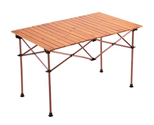 コールマン(Coleman) テーブル ナチュラルウッドロールテーブル ヴィンテージ 110 2000026802