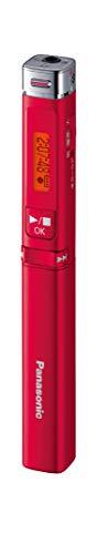 パナソニック ICレコーダー 物品 レッド 人気 RR-XP009-R
