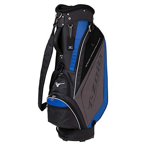 MIZUNO ミズノ ゴルフ キャディーバッグ T-ZOID トラスト ティーゾイド メンズ 9.5型 5分割 5LJC179300 47インチ対応 77cm SALENEW大人気! 軽量約2.7kg ブラック×ブルー
