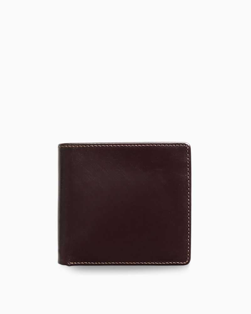 ホワイトハウスコックス【Whitehouse Cox】型番:S7532(ハバナ) 財布 二つ折り財布 ブライドルレザー 牛革 男女兼用