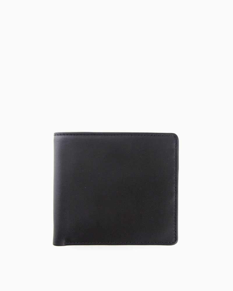 ホワイトハウスコックス【Whitehouse Cox】型番:S7532(ブラック×タン) 財布 二つ折り財布 ツートン ダービーコレクション 馬革 ホースハイド 男女兼用 (ブラック)(タン)