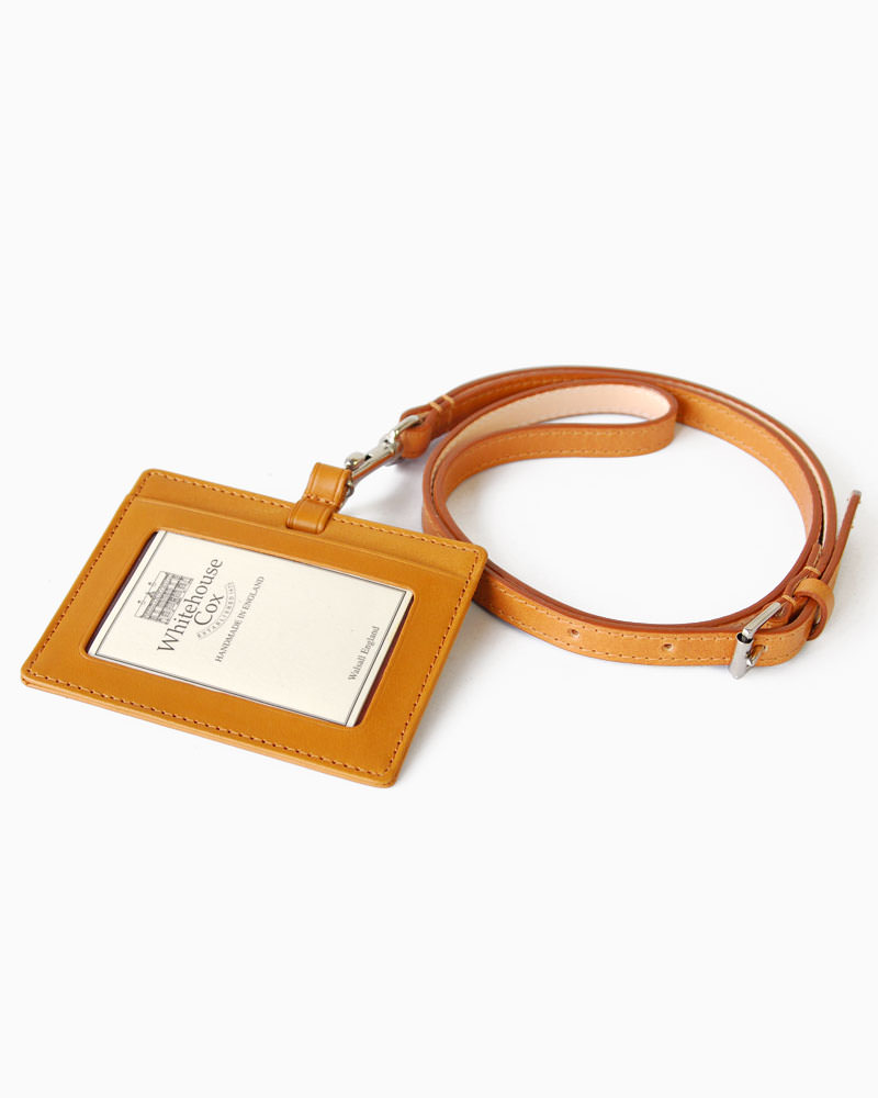 White House Cox-:S9736 (Newton) bridle leather ID holder