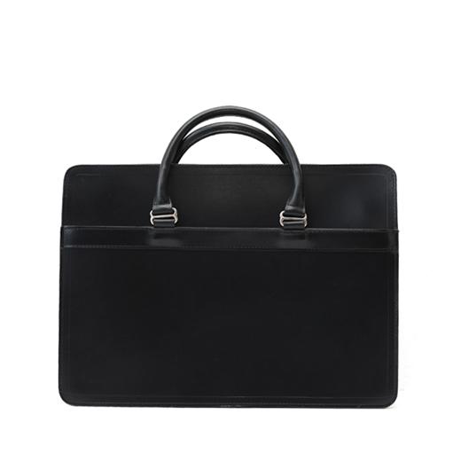 ホワイトハウスコックス【Whitehouse Cox】型番:L9892(ブラック) ブリーフケース 鞄 ブライドルレザー 牛革