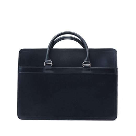 ホワイトハウスコックス【Whitehouse Cox】型番:L9892(ネイビー) ブリーフケース 鞄 ブライドルレザー 牛革