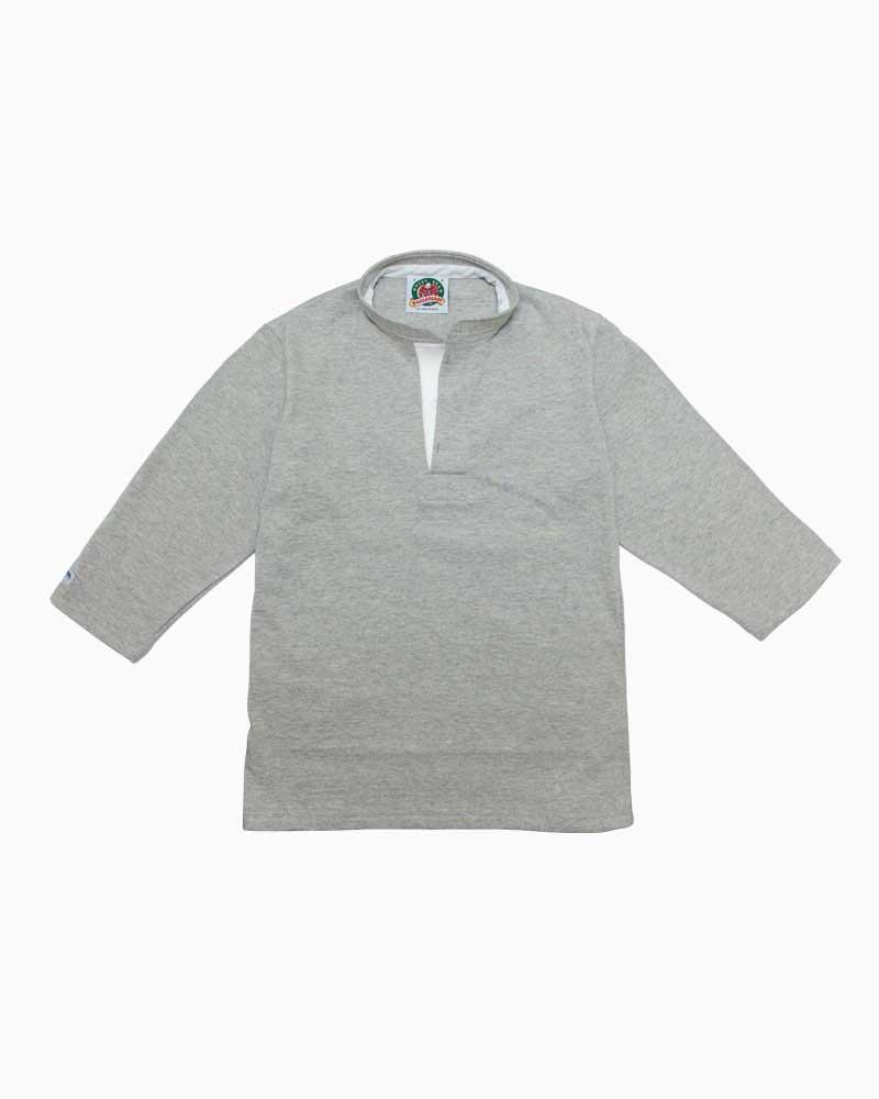 CANTERBURY 3/4 ラガー ドロップショルダー スリーブ RA48105 シャツ 七分袖 ラガーシャツ ラギッド カンタベリー セール メンズ