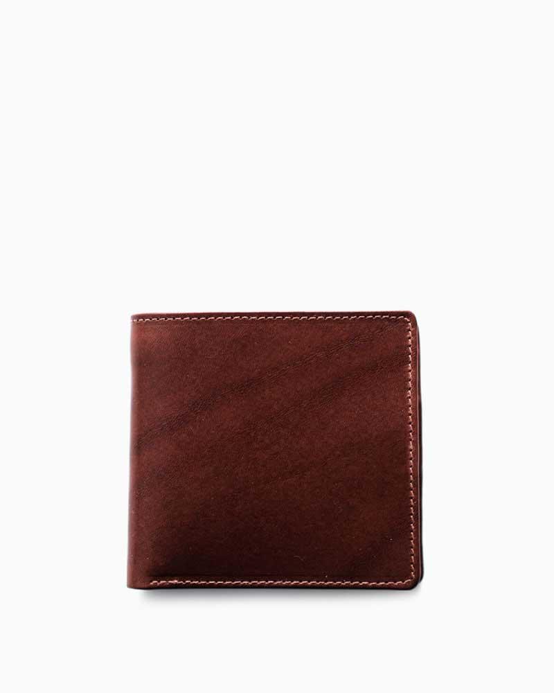 ホワイトハウスコックス【Whitehouse Cox】型番:S7532(アンティーク) 財布 二つ折り財布 アンティークブライドルレザー 牛革 男女兼用(ブラウン)