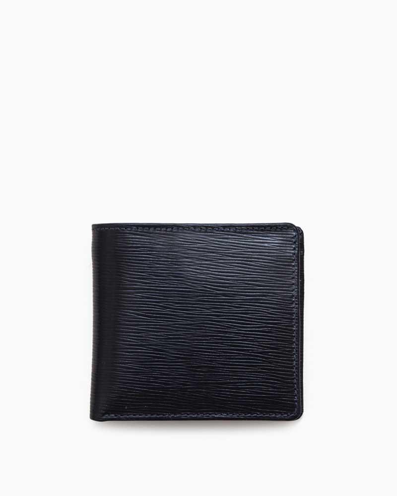 ホワイトハウスコックス【Whitehouse Cox】型番:S7532(ネイビー/エクリュ) 財布 二つ折り財布 オックスフォードブライドルレザー 牛革 男女兼用