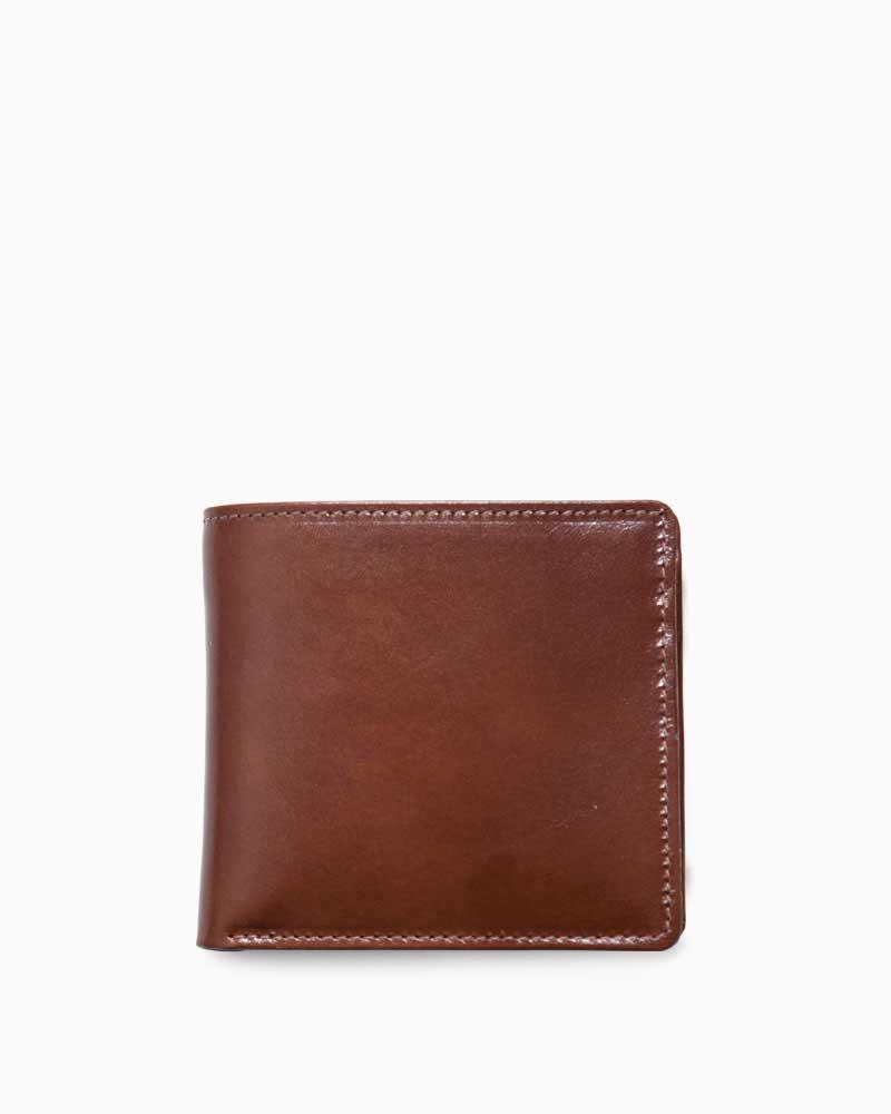 ホワイトハウスコックス【Whitehouse Cox】型番:S7532(タン) 財布 二つ折り財布 シャドーカーフ 牛革 男女兼用(タン)