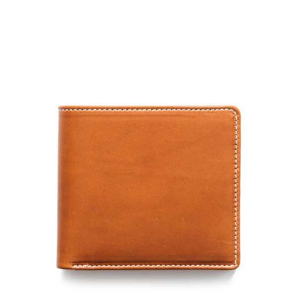 ホワイトハウスコックス【Whitehouse Cox】型番:S1869(タン/ブラック) 財布 二つ折財布 ノートケース ツートン フレンチカーフコレクション 牛革