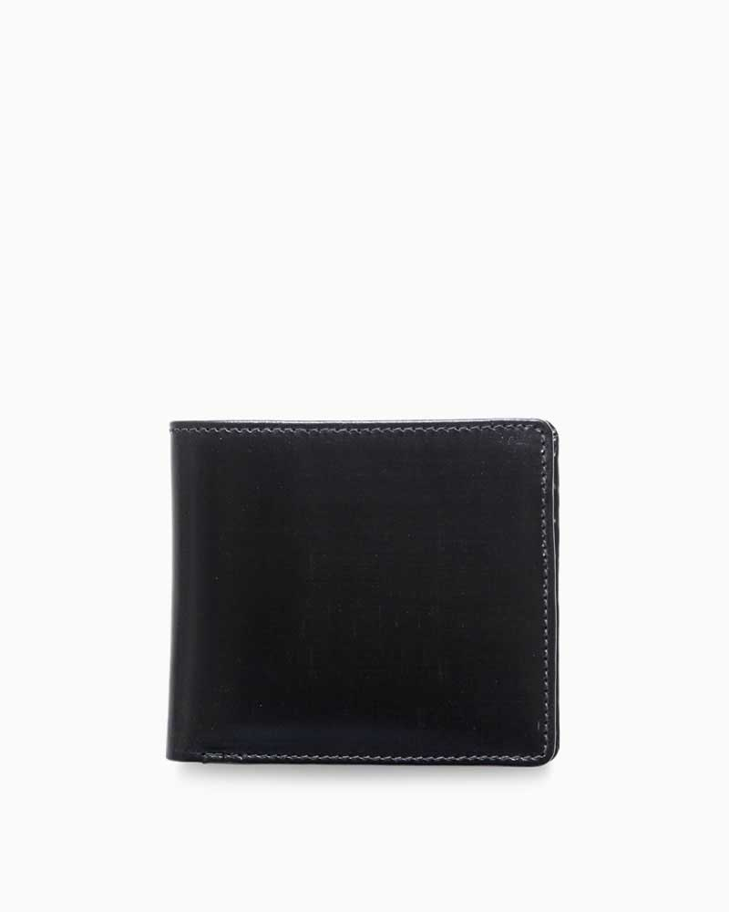 ホワイトハウスコックス【Whitehouse Cox】型番:S8772(ブラック) 財布 二つ折り財布 ブライドルレザー 牛革