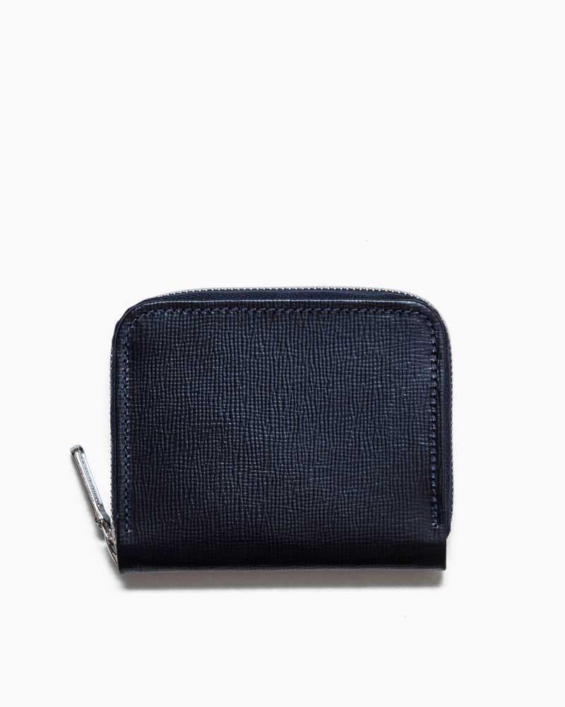 ホワイトハウスコックス【Whitehouse Cox】型番:S1194(ネイビー) 財布 ジップウォレット リージェントブライドルレザー 牛革 男女兼用