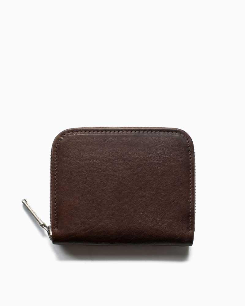 ホワイトハウスコックス【Whitehouse Cox】型番:S1194(ブラウン) 財布 ジップウォレット サファリレザー 牛革 男女兼用