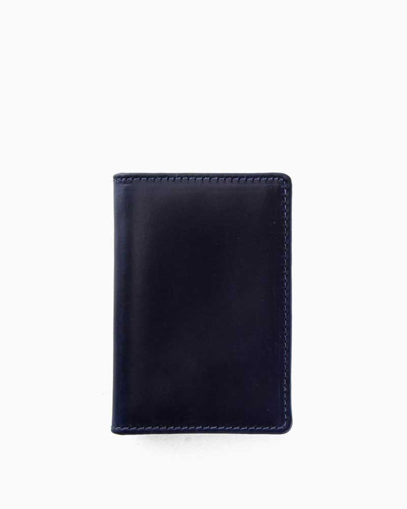 ホワイトハウスコックス【Whitehouse Cox】型番:S2380(ネイビー/ナチュラル) カードケース ビジネスツール ツートーン ツートン ヴィンテージブライドルレザー 牛革 男女兼用 (ネイビー)(ベージュ)
