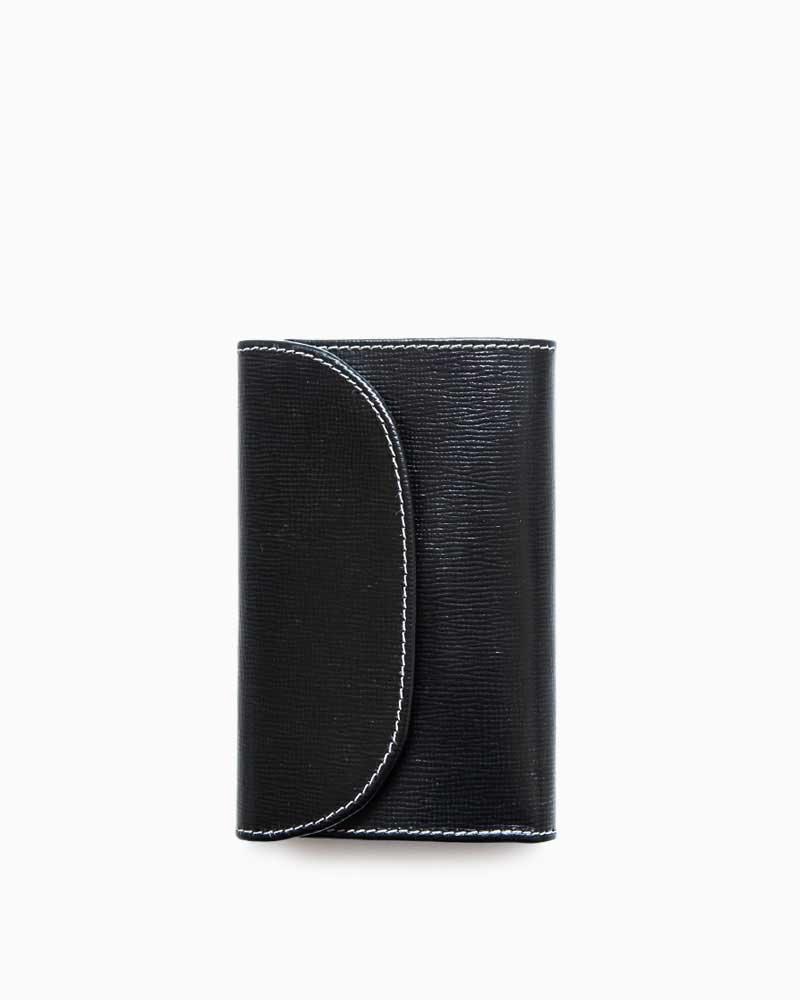 ホワイトハウスコックス【Whitehouse Cox】型番:S7660(ブラック) 財布 三つ折り財布 リージェントブライドルレザー 牛革 男女兼用