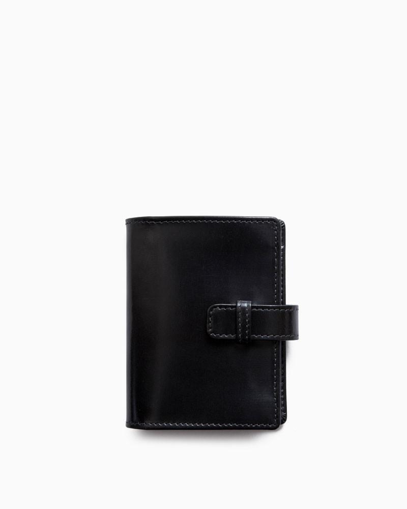 ホワイトハウスコックス【Whitehouse Cox】型番:S1070(ブラック) ステーショナリー アクセサリー メモ帳カバー ビジネスツール ブライドルレザー 牛革 男女兼用
